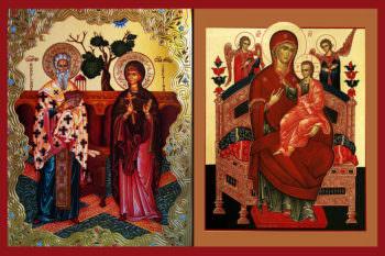 График крестного хода по храмах Изюмской епархии