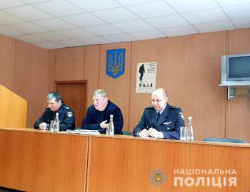 Начальник Изюмской полиции переведен на работу в Харьков
