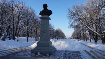 День Соборности Украины отметили возложением цветов к памятнику Т. Г. Шевченко