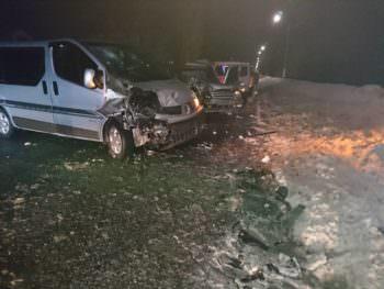 В городе Изюме в результате ДТП пострадали 6 человек