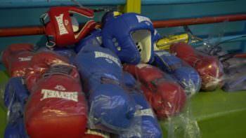 Для воспитанников спортивной школы Изюма приобретено новую экипировку