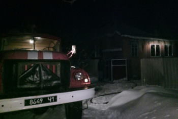 В Изюме погиб пенсионер в загоревшемся частном доме