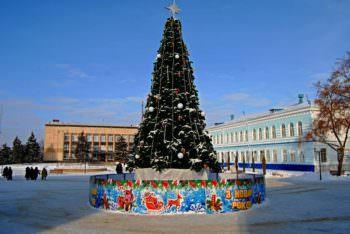 Новогодняя елка 2019 в г Изюм