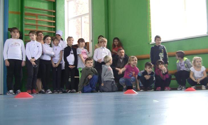 В школе на Изюмщине капитально отремонтировали спортивный зал