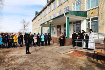 В Изюме открыли мемориальную доску погибшему воину в АТО