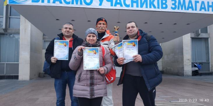 Кубок Харьковской области по настольному теннису в г. Купянск
