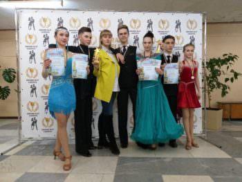Изюмские танцоры  стали призерами турнира Гран при Слобожанщины в Лозовой