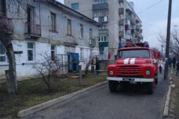 В Изюме погиб ребенок во время пожара