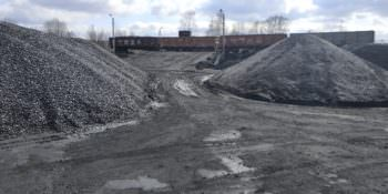 Предприятие по сортировке угля уже как год работает на территории Капитоловского сельсовета