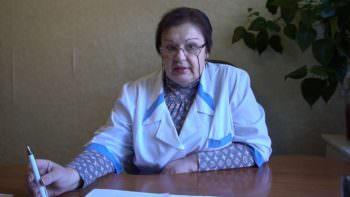 главный врач КП «Изюмская городская стоматологическая поликлиника» Надежда Николаевна Григоренко