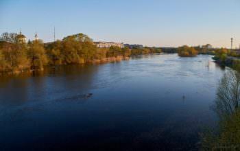 8 марта в Изюме будет тепло и ясно. река