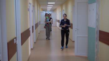 В детское отделение Изюмской ЦГБ приобретен новый инвентарь