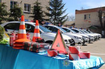 Изюмский ОП получил новый автомобиль PEUGEOT 301 и спецоборудование