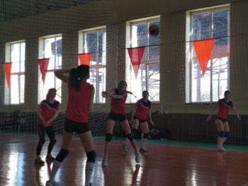 Состоялись областные соревнования по волейболу среди женщин