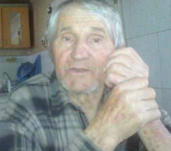 В Изюме пропал старенький дедушка