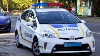 Полиция Изюмщины, автомобиль