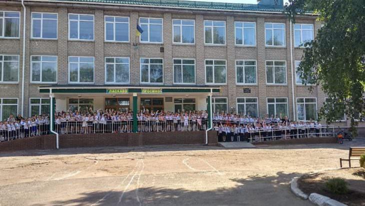 В школе №2 в Изюме прошел День в вышиванках