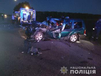 В результате ДТП на Харьковщине погиб водитель иномарки