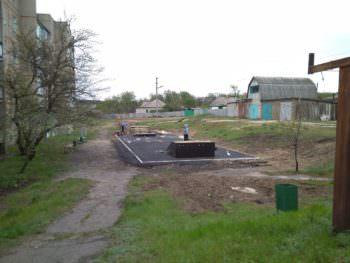 В селе Капитоловка установили мини скейт-парк