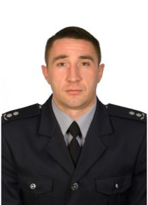 Руководитель Изюмского отдела полиции Ткаченко Роман