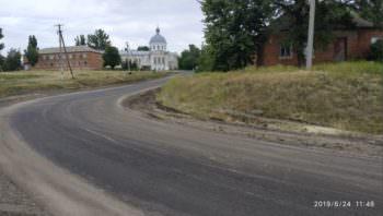 В Бугаевке проложили более 1 километра новой дороги