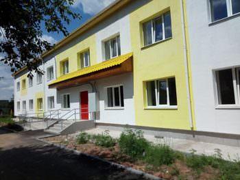 В Дергачах переселенцы получили жилье