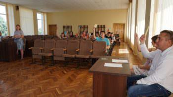 Активная молодежь приобщается к делам города – в Изюме создан Молодежный совет