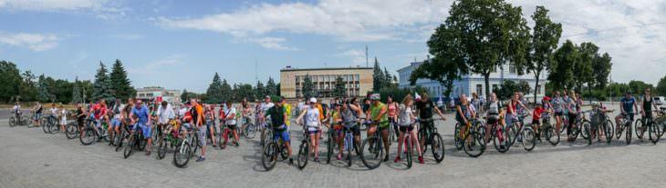 Велодень 2019 в городе Изюме - фото