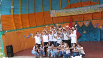 Дети активно отдыхают в лагере «Байдиківка»