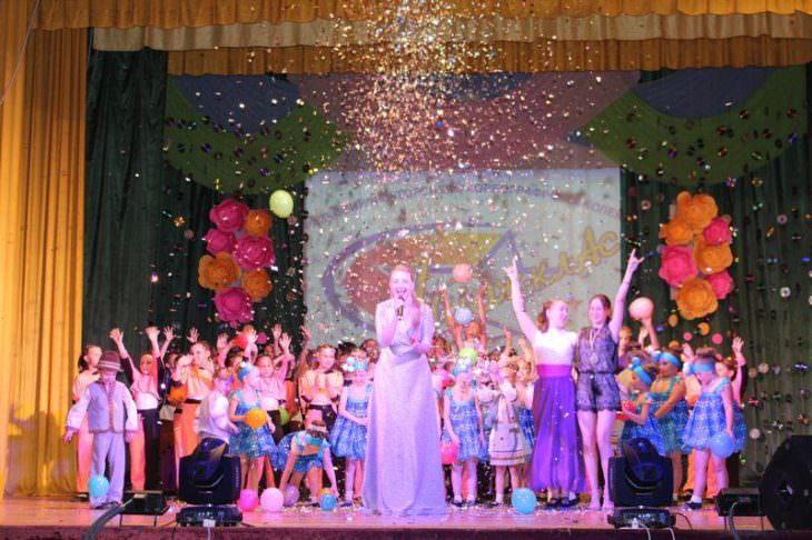 Состоялся отчетный концерт «Имидж-класса» в Железнодорожнике
