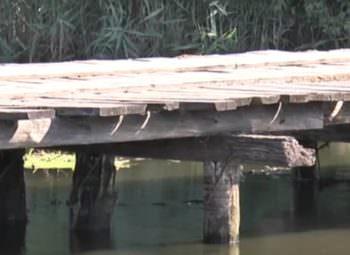Через реку Северский Донец, Змиевского района, построят новый мост