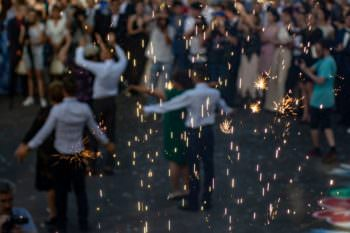 В Изюме прошёл «Парад выпускников – 2019» — фото