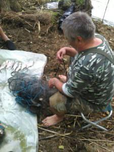 На Краснооскольском водохранилище продолжают ловить браконьеров