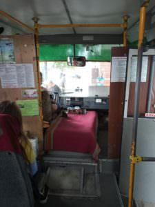 Пассажиры автобусного рейса Изюм-Харьков жалуются на ужасные условия