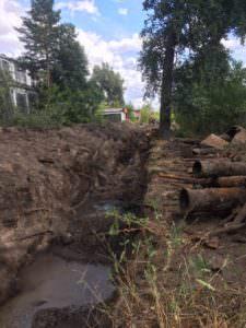 Украли часть водопровода, 40 многоэтажек остались без воды