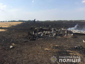 Под Харьковом упал самолет - подробности