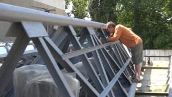 В Изюме строят две новые модульные котельные