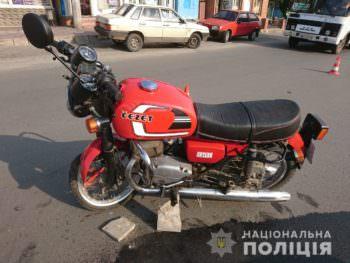 В Изюме в результате ДТП погиб мотоциклист