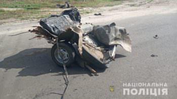 ДТП в селе Оскол, машину разорвало на части