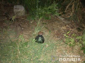 В огороде Изюмчанин нашёл бутылку с ртутью