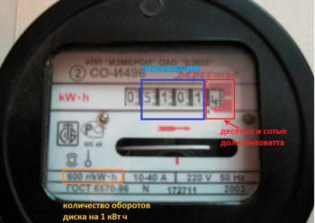 Передать показатели счетчика за электроэнергию самостоятельно