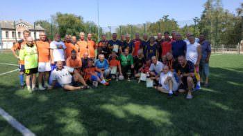 1 сентября в городе Изюм прошел турнир по футболу среди ветеранов
