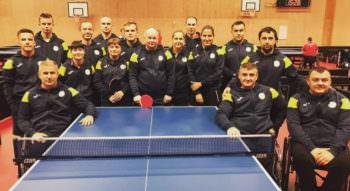 Изюмчанин - бронзовый призер чемпионата Европы по настольному теннису