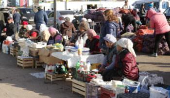 Цены на продукты питания в городе на начало сентября