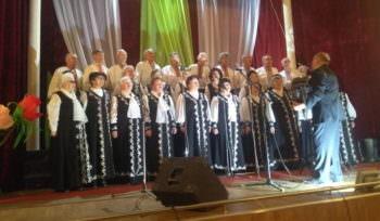 В Спартаке выступил городской хор «Криниченька»