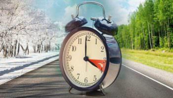 Переход Украины на зимнее время в эти выходные
