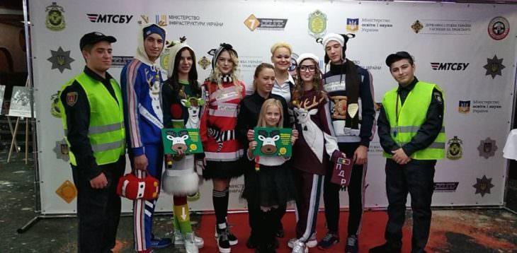 Изюмских детей торжественно награждали в Киеве