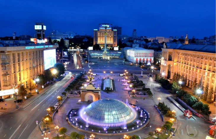 Столица Украины - Киев