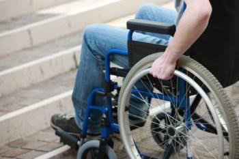 """Как """"заботятся"""" о инвалидах в Изюме"""