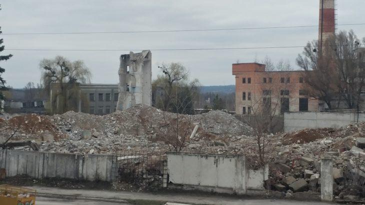 Бывший завод ИОМЗ, точнее то, что от него осталось - фото